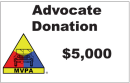 MVPA ADVOCATE: A $5,000 Tax Deductible Donation