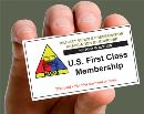 U.S.A. Membership 1st Class Postage 1-Year