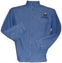 Shirt, Long Slevee lightweight denim - XLarge