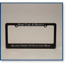 Home Care and Hospice License Plate Holder
