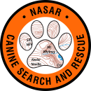NASAR Canine Patch