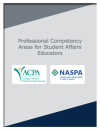 Professional Competency Areas for Student Affairs Educators