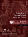 Responding to Campus Protests (Legal Links Vol 1, Iss 2)