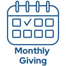 Give $10 Monthly!