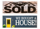 We bought a house/Sold