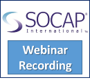 SOCAP Webinar Recording: Results from the 2011 Multi-Industry Benchmarking Study