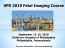 SPR 2019 Fetal Imaging Course