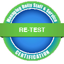 Re-Test -- Managing Daily Staffing and Service