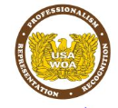 USAWOA Vinyl Static Cling Decal