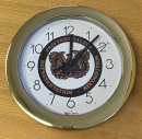 USAWOA Wall Clock
