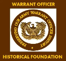 Donation to Warrant Officer Historical Foundation