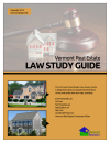 Vermont Real Estate Law Study Guide